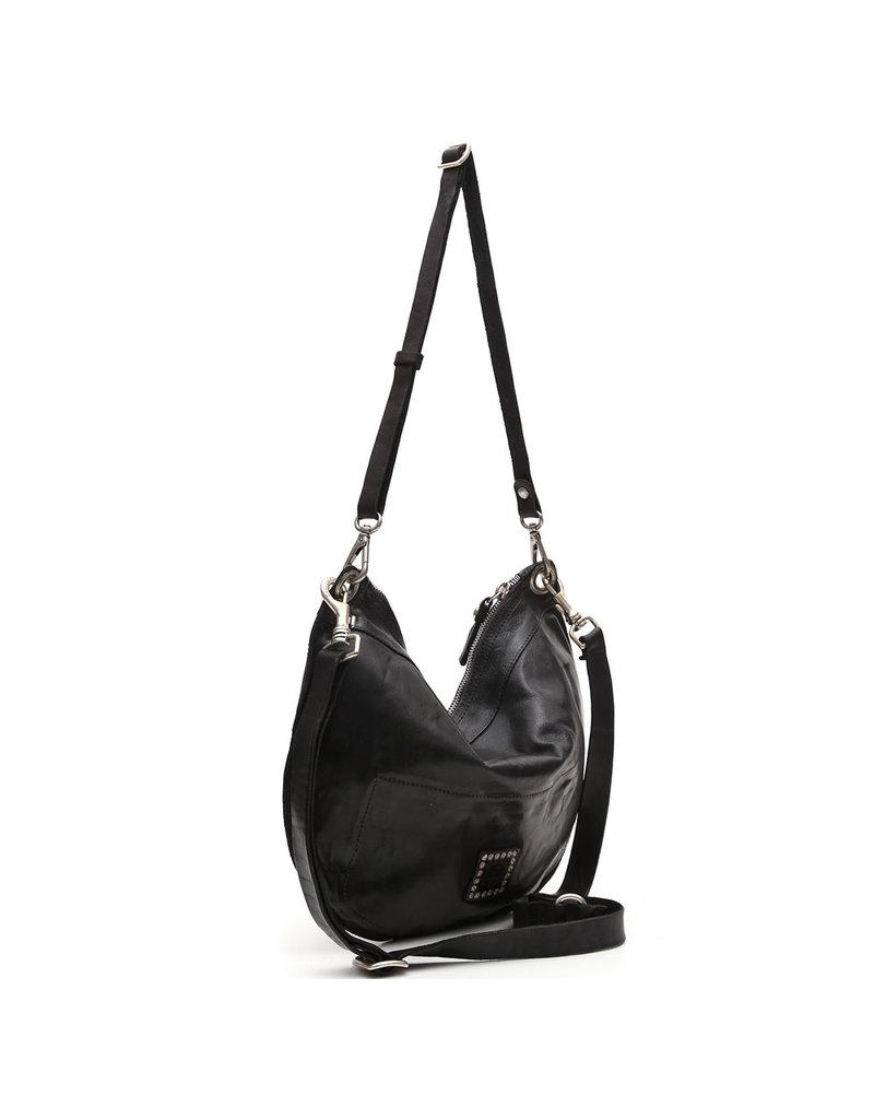 Campomaggi Shoulder bag. Medium. Genuine leather. Wine.