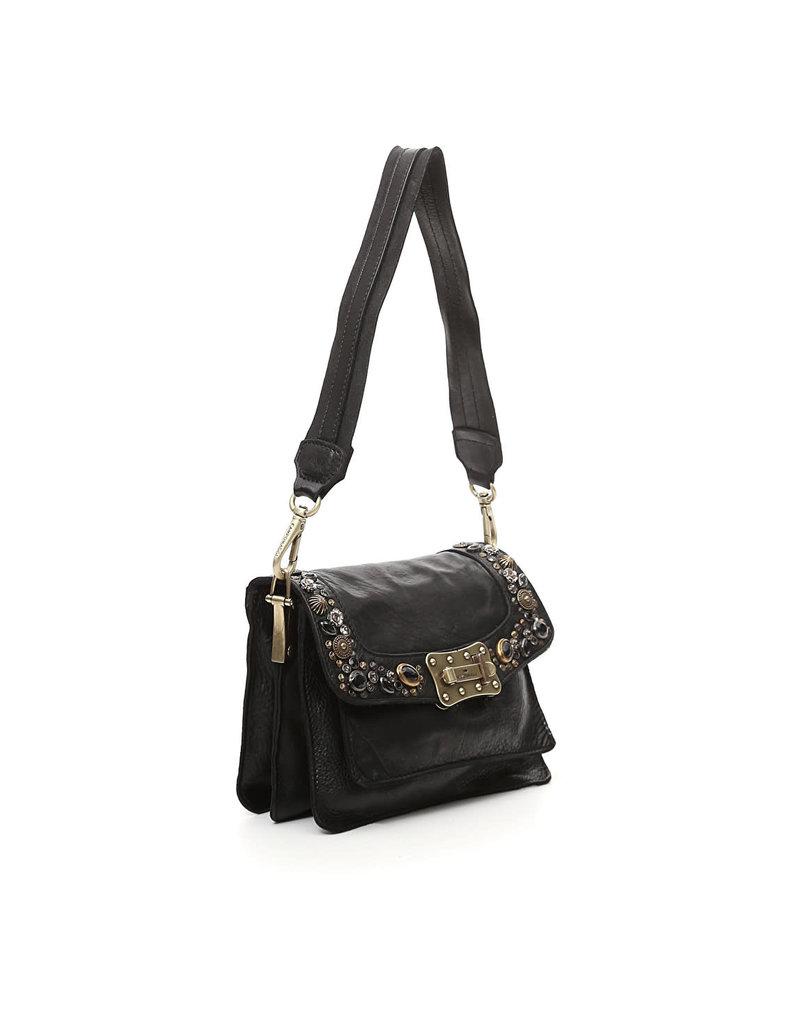 Campomaggi Agnes S Crossbody bag with Bella Di Notte Studs