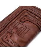 Campomaggi 100% genuine leather. Wallet. Laser Corallo. Cognac.