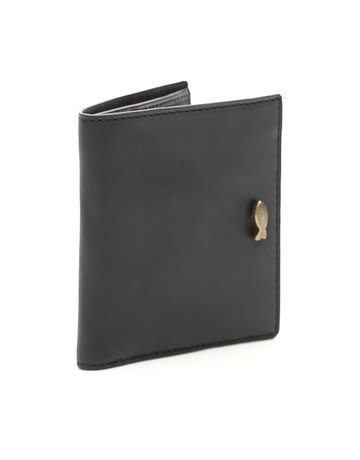Campomaggi Genuine Leather Wallet & Cardholder. Nero.