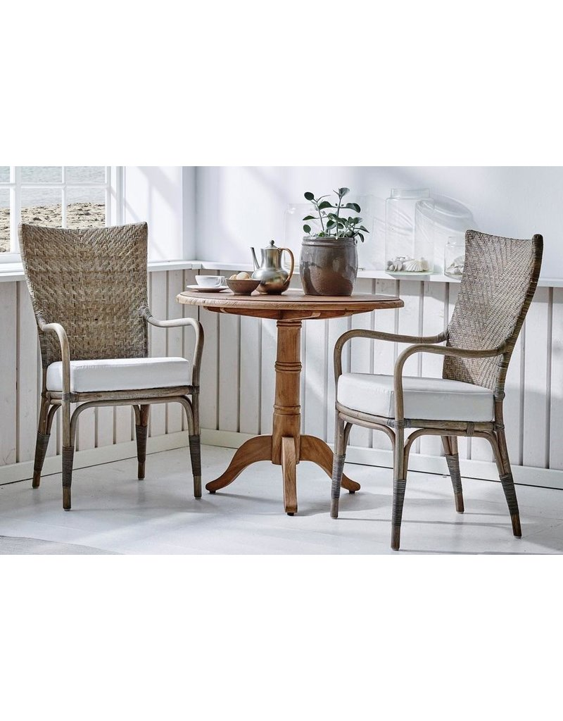 Originals Melody Chair with Armrest, Taupe-Excludes Cushion