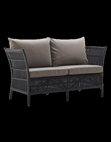 Originals Donatello 2 Seater, Matt Black,-Excludes Cushion