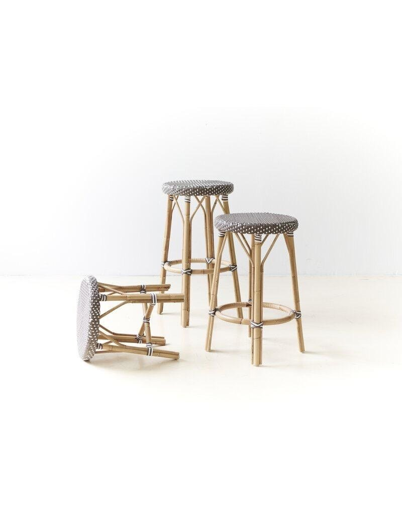 Affaire Simone Counter Stool, Cappucino with White Dots