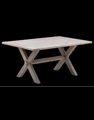 Teak Colonial Teak Table - 100 x 160cm, Natural