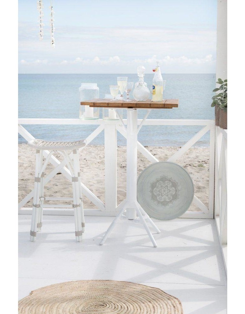 Affaire Nicole Bar Table White Base,,-assorted tops available separately