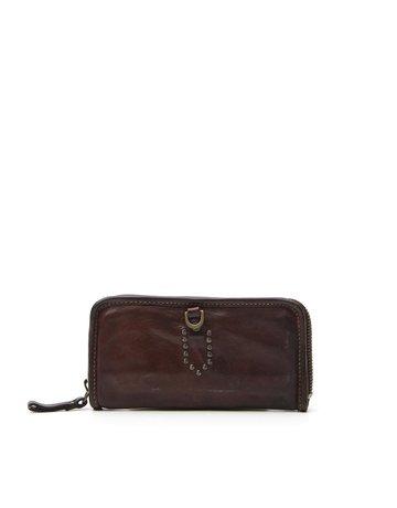 Campomaggi Wallet. Genuine Leather. Black.