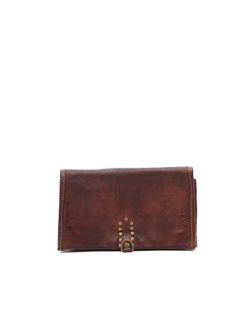Campomaggi Wallet. Genuine Leather. Cognac.