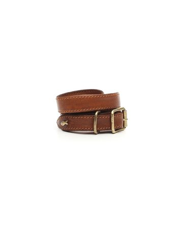 Campomaggi Cowhide Leather Belt. Cognac. S70