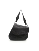 Campomaggi Shoulder bag. Genuine leather. Black.