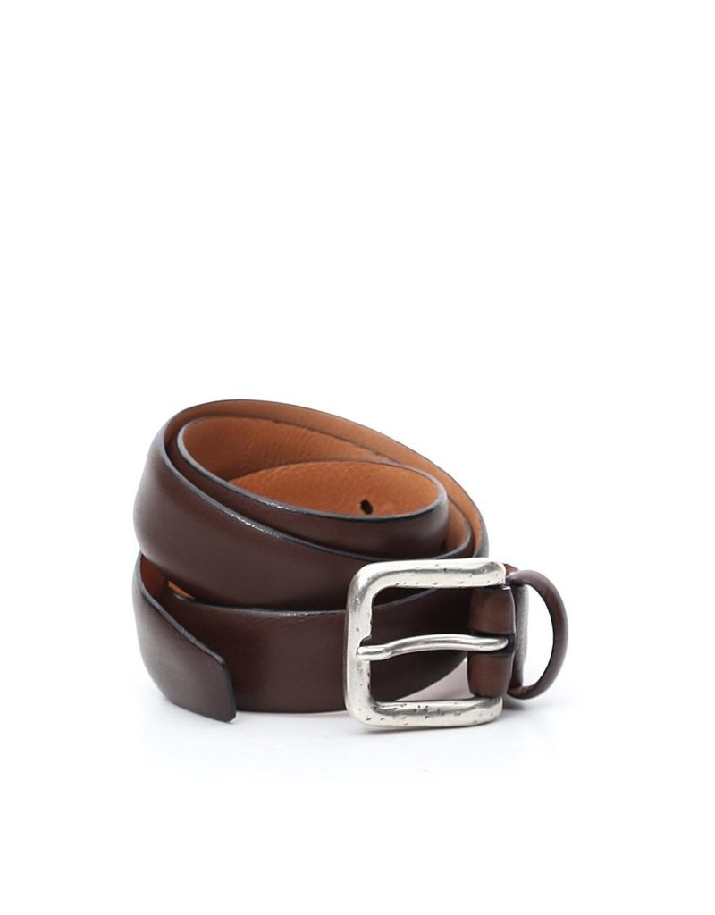 Campomaggi Belt. Opaque Cowhide Leather. H3.0. Moro. S85