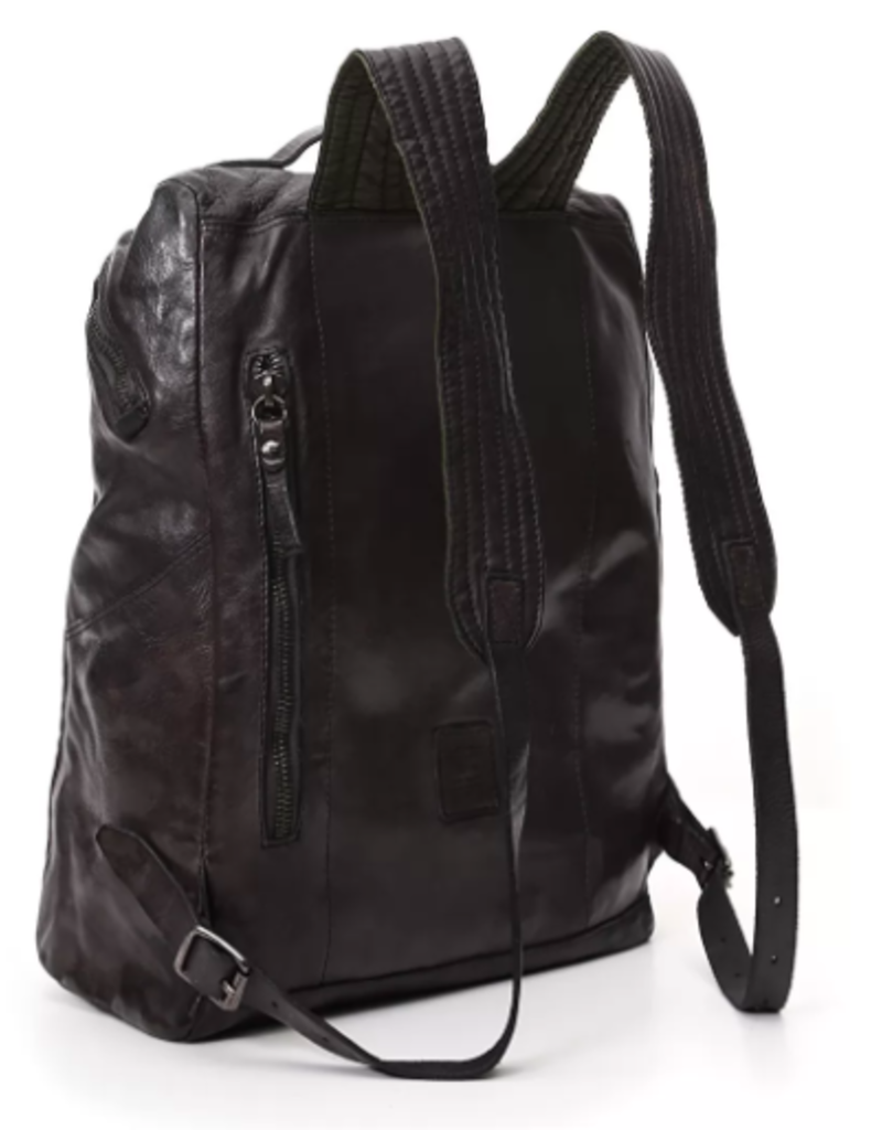 Campomaggi Backpack. Genuine Leather. Grigio.