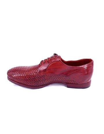 Lemargo Lemargo handmade footwear. Braid. Red. Size 38