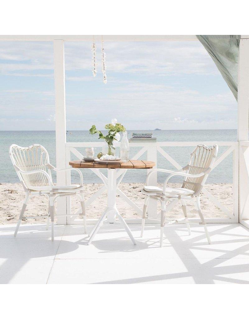 Exterior Margret Chair - Exterior - Dove White