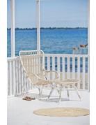 Exterior Monet High Back Chair - Exterior - Dove White