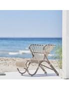Exterior FOX Lounge Chair - Aluminium Mint Green
