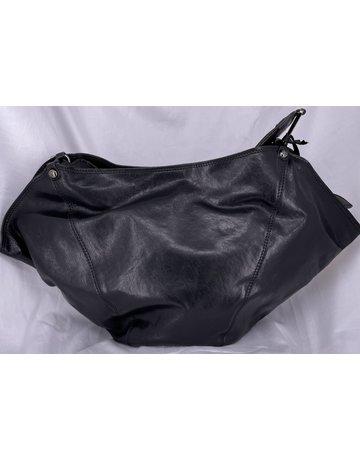 Campomaggi Anna M Shoulder bag. Medium. Goat leather. Black.