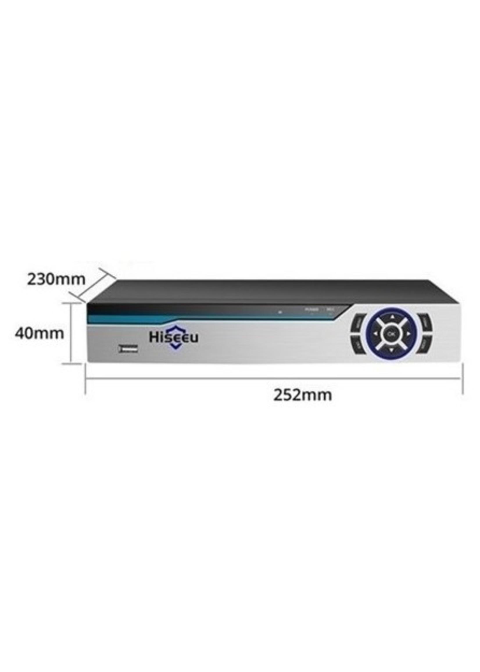 Harddiskrecorder (NVR) 8MP (4K) - Bekabeld