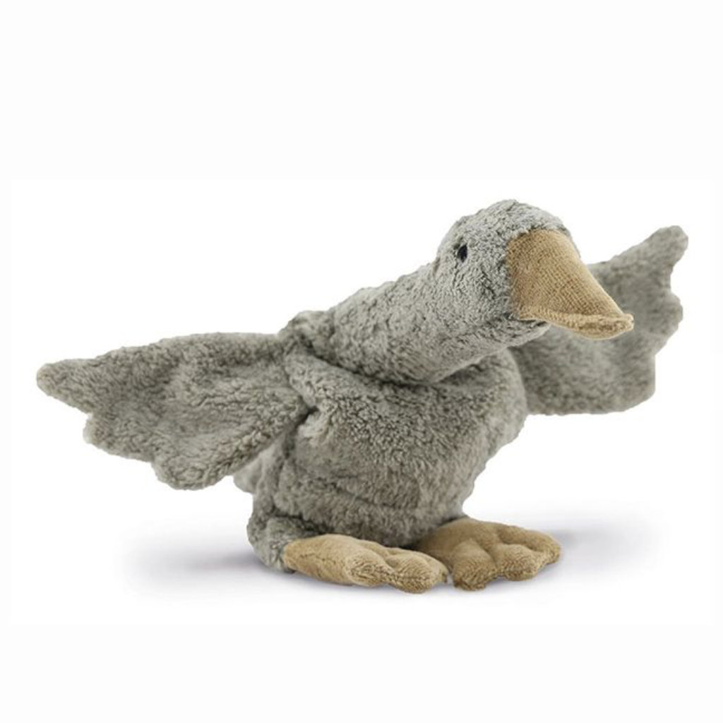 Senger Cuddly animal Goose small   grey   vegan