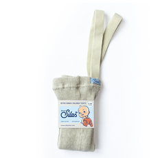 Silly Silas Footed Tights Cream