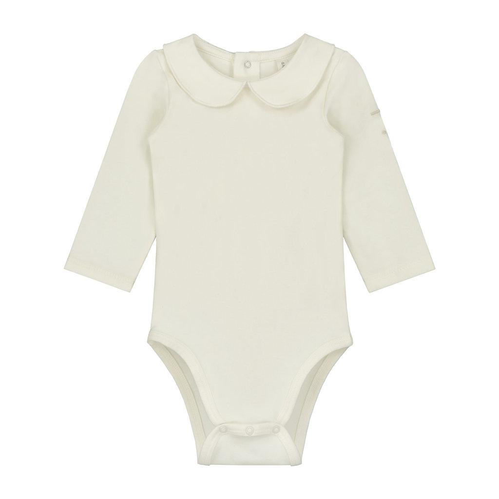 Gray Label Baby Collar Onesie Cream
