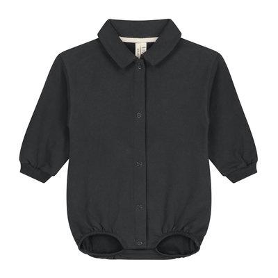 Gray Label Baby Bodysuit Nearly Black