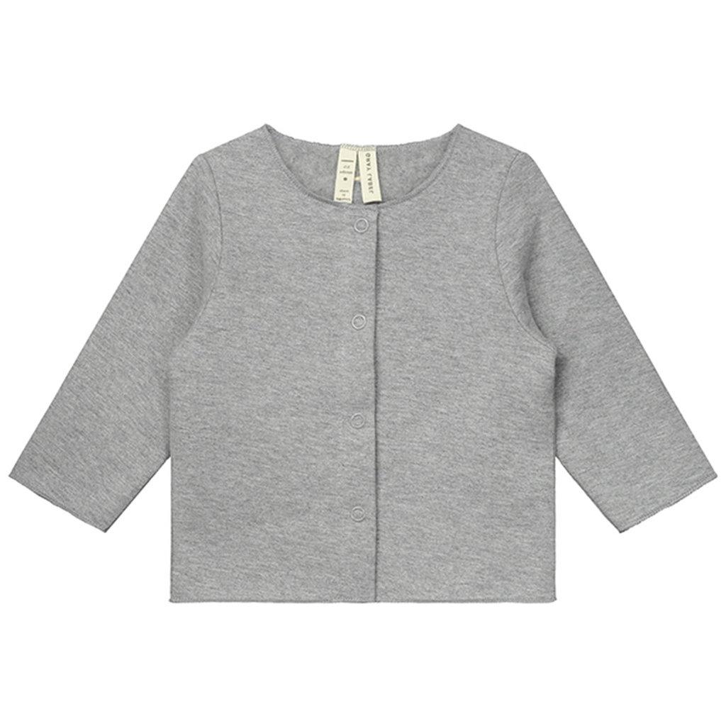 Gray Label Baby Cardigan Grey Melange