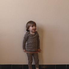 Maed for Mini Brown Leopard AOP Legging
