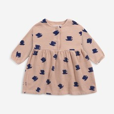 Bobo Choses Cup Of Tea All Over terry dress