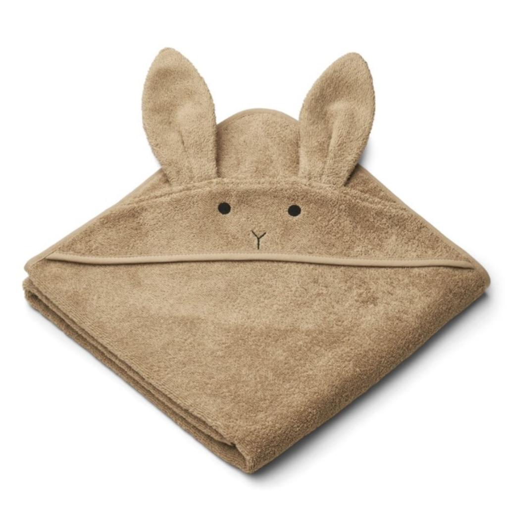 Liewood Albert Hooded Towel Oat