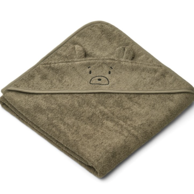 Liewood Albert Hooded Towel Khaki