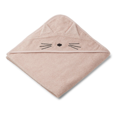 Liewood Augusta Hooded Towel Rose