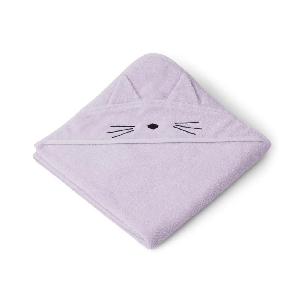 Liewood Augusta Hooded Towel Lavender