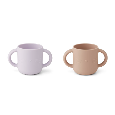 Liewood Silicone Cup 2-pack Lavender