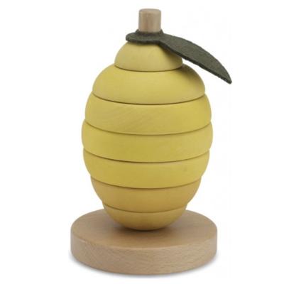 Konges Slojd Stacking Fruit Lemon