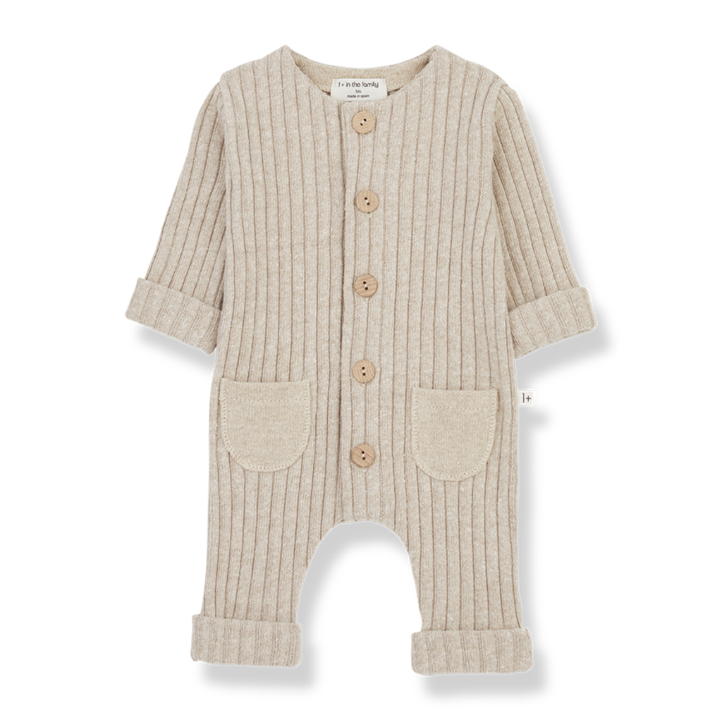 1+ in the Family ALAIN-nb Jumpsuit Cream