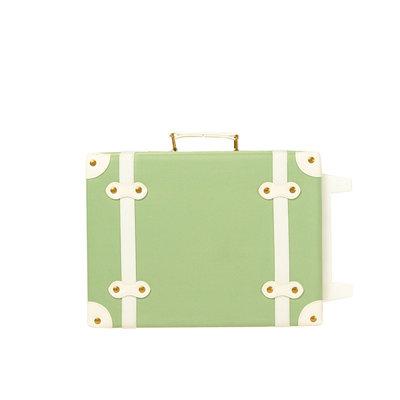 Olli Ella See-Ya Suitcase - Sage