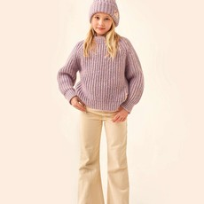 Tinycottons Multicolor Mockneck Sweater