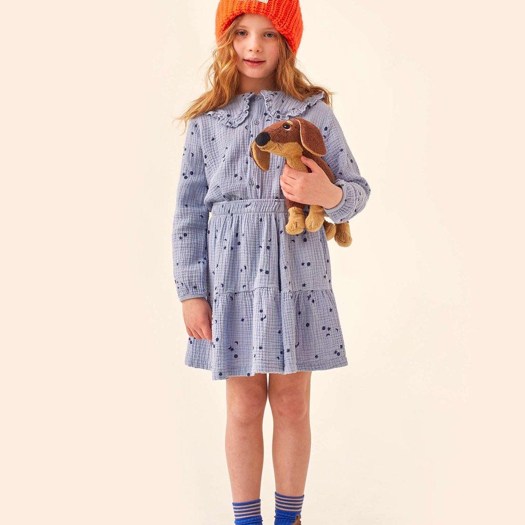 Tinycottons Sky Short Skirt