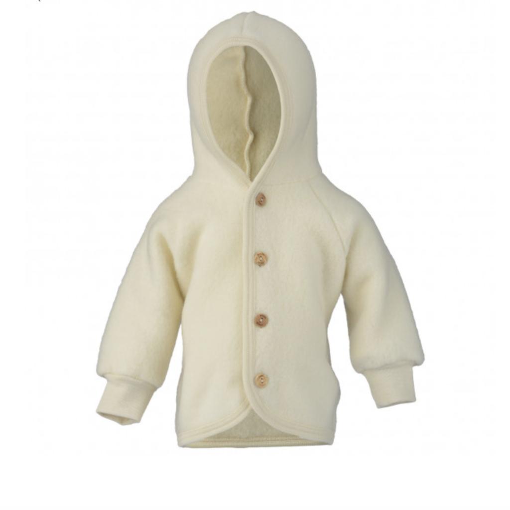 Engel Hooded Jacket Natural