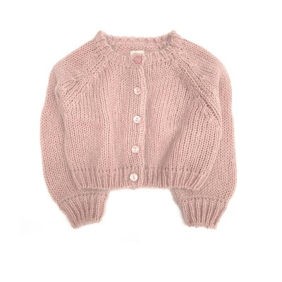 Longlivethequeen Cardigan Old Rose