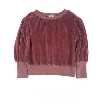 Longlivethequeen Rough Sweater Wine Twist
