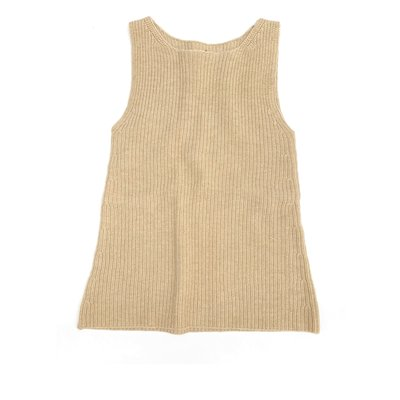 Longlivethequeen Knitted Dress Olive Sand