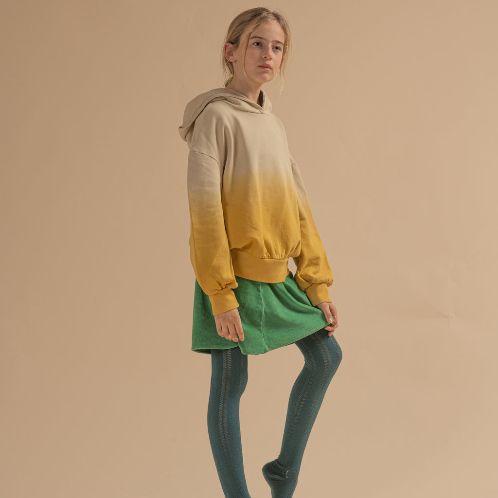 Longlivethequeen Hooded Sweater Mineral Yellow
