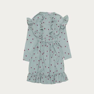 The Campamento Blue Hearts Dress