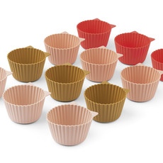 Liewood Jerry Cake Cup 12-pack Rose Multi Mix