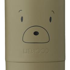 Liewood Nadja Food Jar Mr Bear Kahki