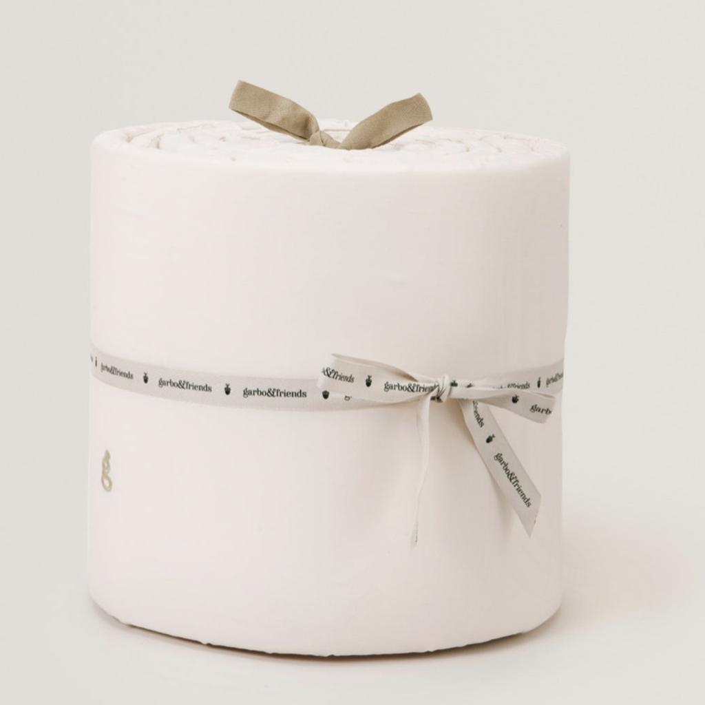 Garbo&Friends Crib Bumper Ivory