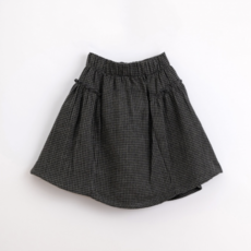 Play Up Vichy Woven Skirt
