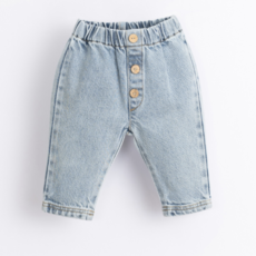 Play Up Denim Trousers