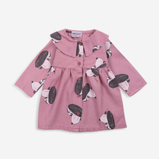 Bobo Choses Doggie All Over Buttoned Woven dress